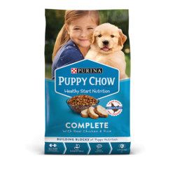 Purina Puppy Chow complete...